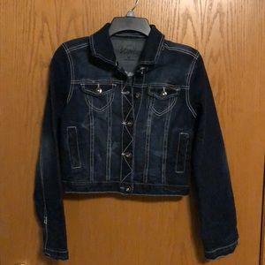 Vanity - Crop Jean jacket  Excellent condition!